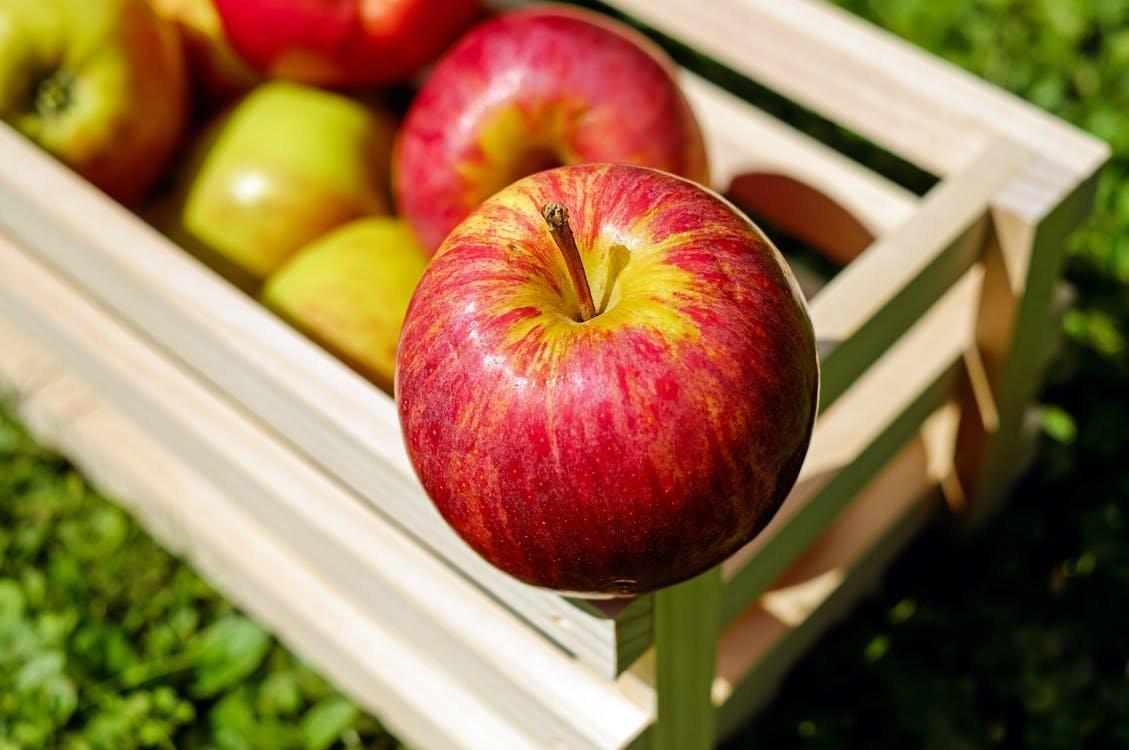 我们为什么选择有机食品-有机苹果含有更多样的益菌